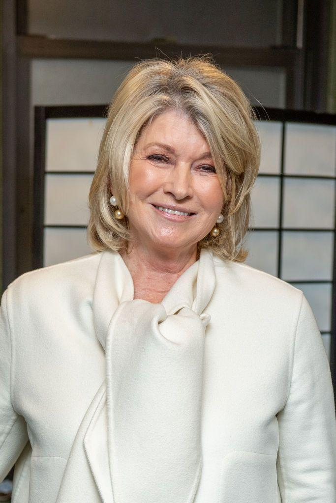 """<p>If you ever doubted Martha Stewart was a Leo, just look at her <a href=""""https://www.amazon.com/Cosmos-Zodiac-Sex-Positions-Astrological/dp/1950785076"""" rel=""""nofollow noopener"""" target=""""_blank"""" data-ylk=""""slk:pool selfie"""" class=""""link rapid-noclick-resp"""">pool selfie</a>. </p>"""