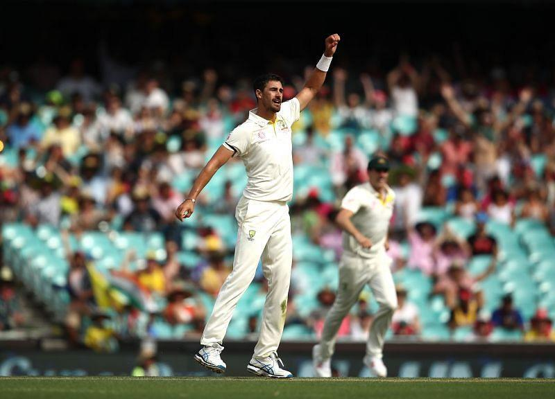 Mitchell Starc took 13 wickets in 4 Tests against India in 2018/19