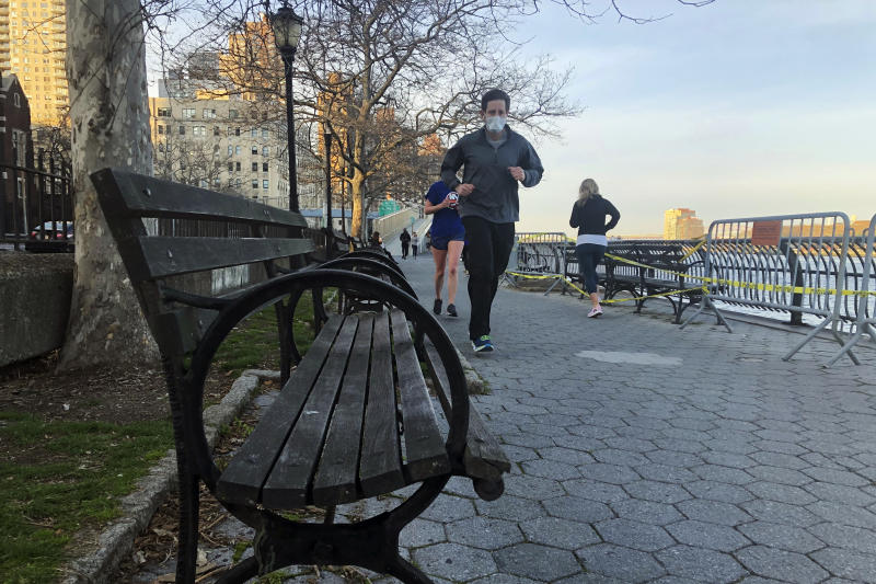 Virus Outbreak Diary Outdoors in NYC