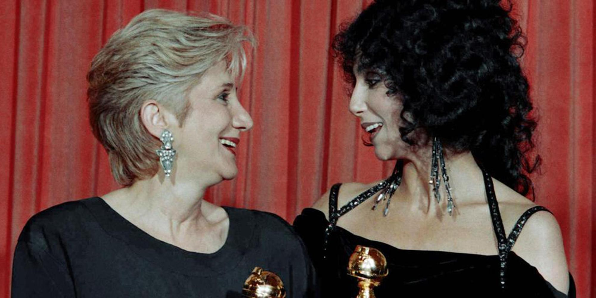 Cher honors late 'Moonstruck' co-star Olympia Dukakis in heartfelt statements