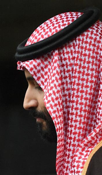 Saudi Arabia's response appears designed to shield Crown Prince Mohammed bin Salman from the crisis, analysts say (AFP Photo/Eric FEFERBERG)