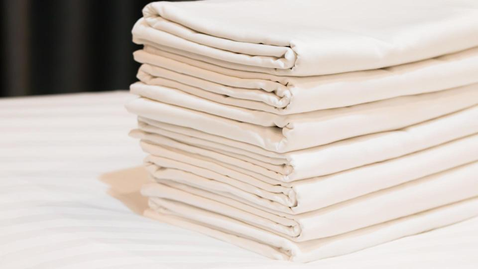 stack of sheets.