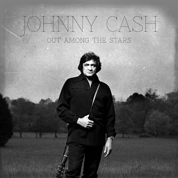 "This photo provided by Columbia/Legacy shows the Johnny Cash album cover for ""Out Among the Stars,"" releasing March 25, 2014. The new album is comprised of 12 studio recordings by Cash that were recently discovered. (AP Photo/Columbia/Legacy)"