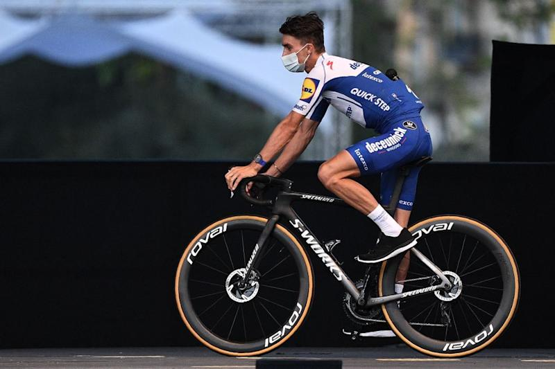 Deceuninck-QuickStep's Julian Alaphilippe is another French favourite, and says he'll be chasing stage wins this year after wearing the yellow jersey for two weeks in 2019