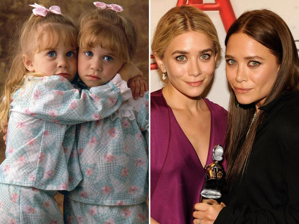"<b>Mary-Kate and Ashley Olsen (Michelle Tanner)</b><br><br>When they were just babies, fraternal twins Mary-Kate and Ashley Olsen made their TV debut as Michelle Tanner on the premiere episode of ""Full House."" They would spend the next eight seasons in front of the cameras, alternating their time onscreen to create the singular role in order for production to stay within the strict boundaries of the child labor laws. The sisters grew up on the show, which wrapped production when they were just 8 years old.<br><br>Although their follow-up series, ""Two of a Kind"" and ""So Little Time,"" each lasted only one season, the Olsen twins had already built their own industry. They launched their company Dualstar, branding products including fragrances, cosmetics, clothing, dolls, books, and magazines. Not surprisingly, as a result, they made their first appearance on Forbes' ""The Celebrity 100"" list in 2002, generating $1 billion in annual sales when they were just 16 years old. Ashley hasn't acted since her last film with Mary-Kate: the box-office flop ""New York Minute."" And Mary-Kate has made only limited forays into entertainment, most prominently in an eight-episode story arc on ""Weeds.""<br><br>While they have all but abandoned their acting careers, the twins are still incredibly busy and successful in the fashion world. In June of this year, they were honored with the Womenswear Designer of the Year Award at the Council of Fashion Designers of America ceremony."