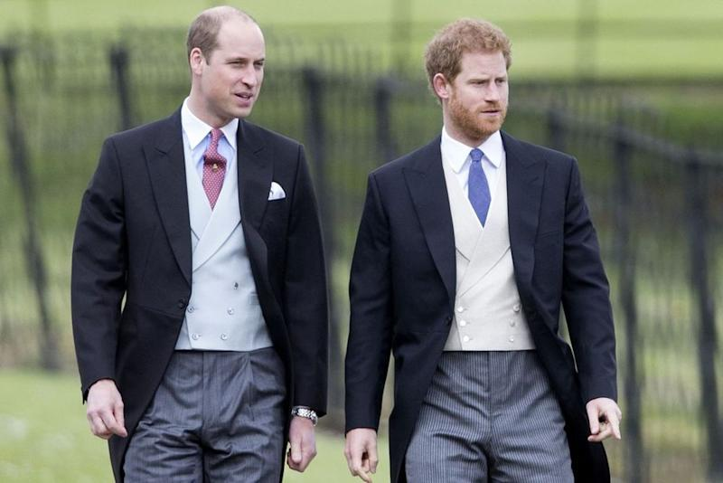 Prince William and Prince Harry | Shutterstock