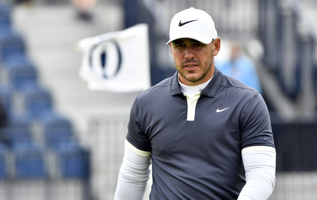 Brooks Koepka is once again running the show at a major. (Reuters)