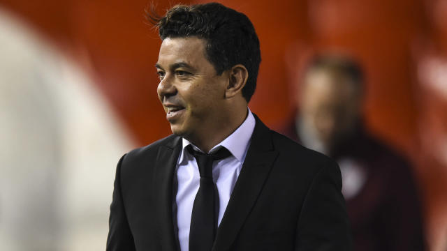 Amid links to Barcelona, Marcelo Gallardo is focused on his job at River Plate.