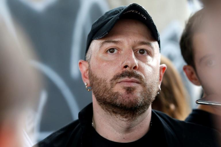 Fashion bad boy: Designer Demna Gvasalia has quit Vetements, the brand he founded, but is still at the helm of Balenciaga (AFP Photo/GEOFFROY VAN DER HASSELT)