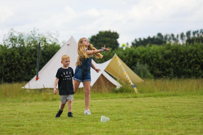 Amber's Bell Tents, Norfolk
