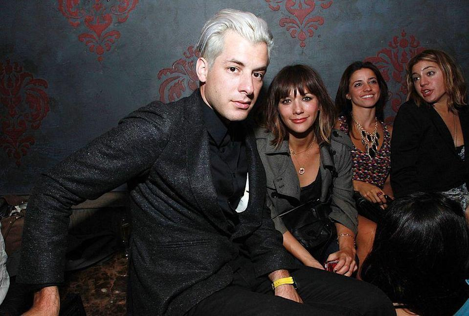 """<p>Rashida Jones was in a relationship with Mark Ronson from 2002 to 2004, and the pair were even engaged at one point. He proposed on her 27th birthday, using a custom-made crossword puzzle spelling out """"Will you marry me?"""", a year before their relationship ended. </p>"""