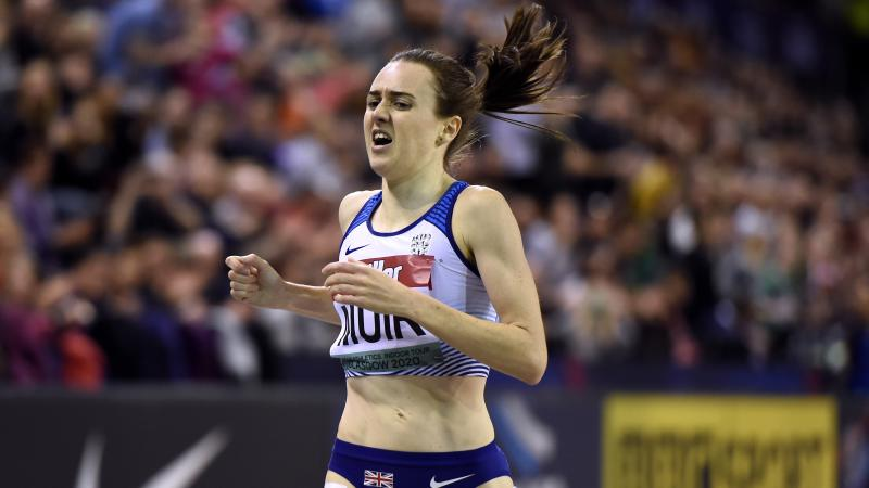 Laura Muir storms to world-leading 1500m time in Stockholm