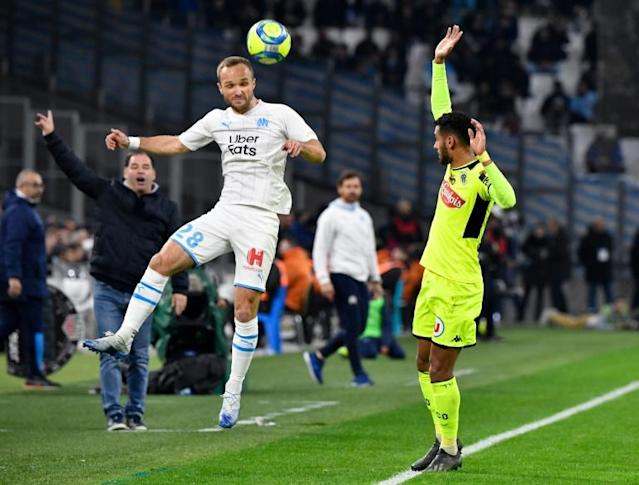 Marseille and Angers played out a slow-paced goalless draw (AFP Photo/GERARD JULIEN)