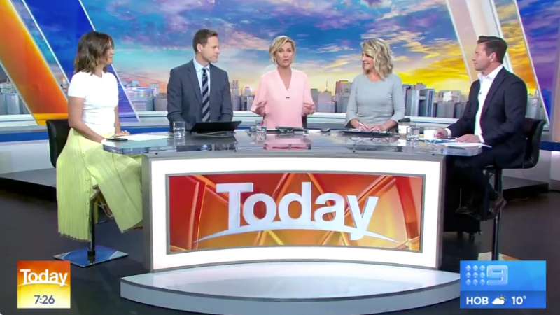 The Today show presenter Deborah Knight empathised on the Channel Nine breakfast show about Meghan Markle and Prince Harry in terms of how much pressure and scrutiny the royal couple face.