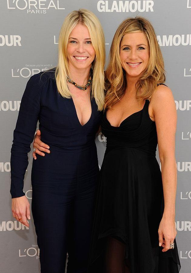 Chelsea is #TeamAniston! Source: Getty