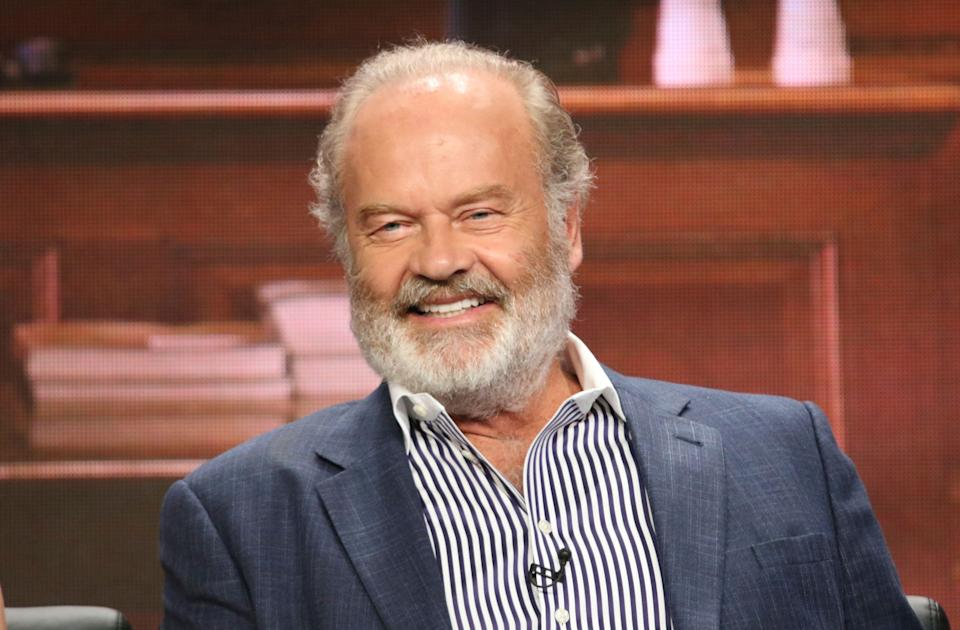 """Kelsey Grammer participates in the """"Proven Innocent"""" panel during the Fox Television Critics Association Summer Press Tour at The Beverly Hilton hotel on Thursday, Aug. 2, 2018, in Beverly Hills, Calif. (Photo by Willy Sanjuan/Invision/AP)"""