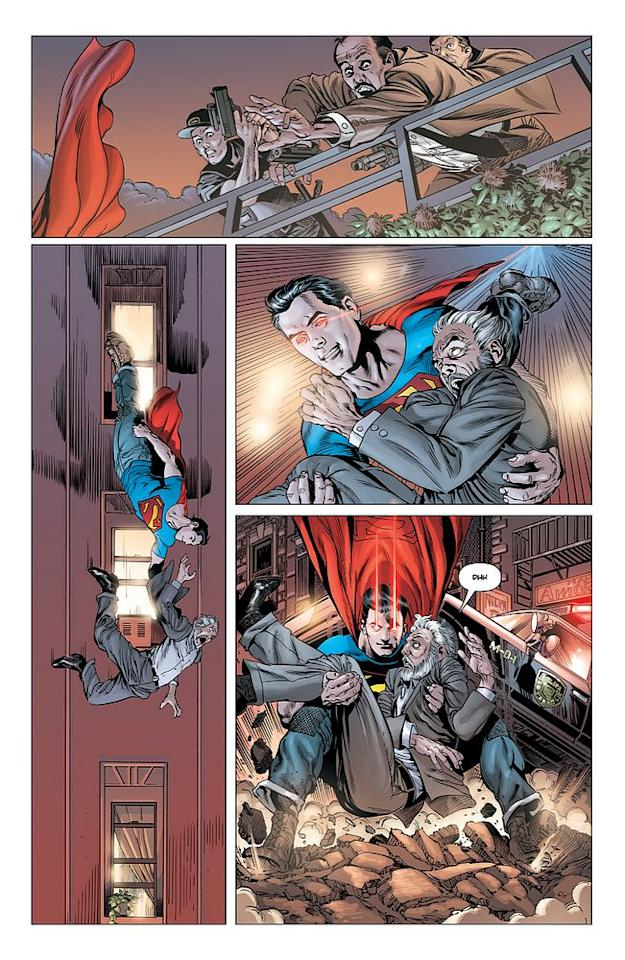 Action Comics #1, page 7 © 2011 DC Entertainment
