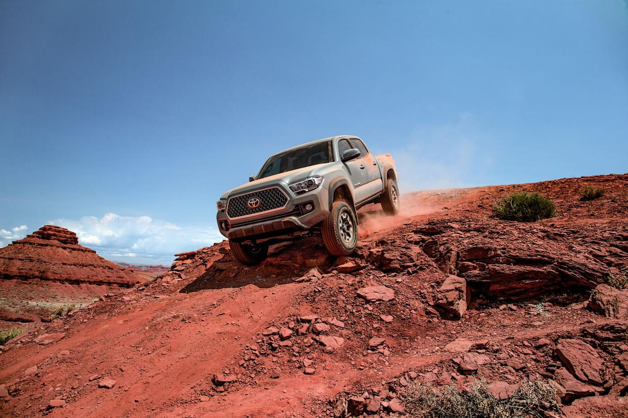 <p>Look, we like and respect the entire Tacoma lineup, but it's the TRD and TRD Pro models that really accelerate our collective pulse. Designed to play dirty from the factory, the TRD models have a well-earned reputation for taking abuse and coming back for seconds. It's those attributes that have earned the Tacoma a legion of dedicated fans.</p>