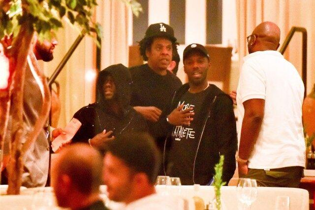 Kevin Hart and Jay-Z