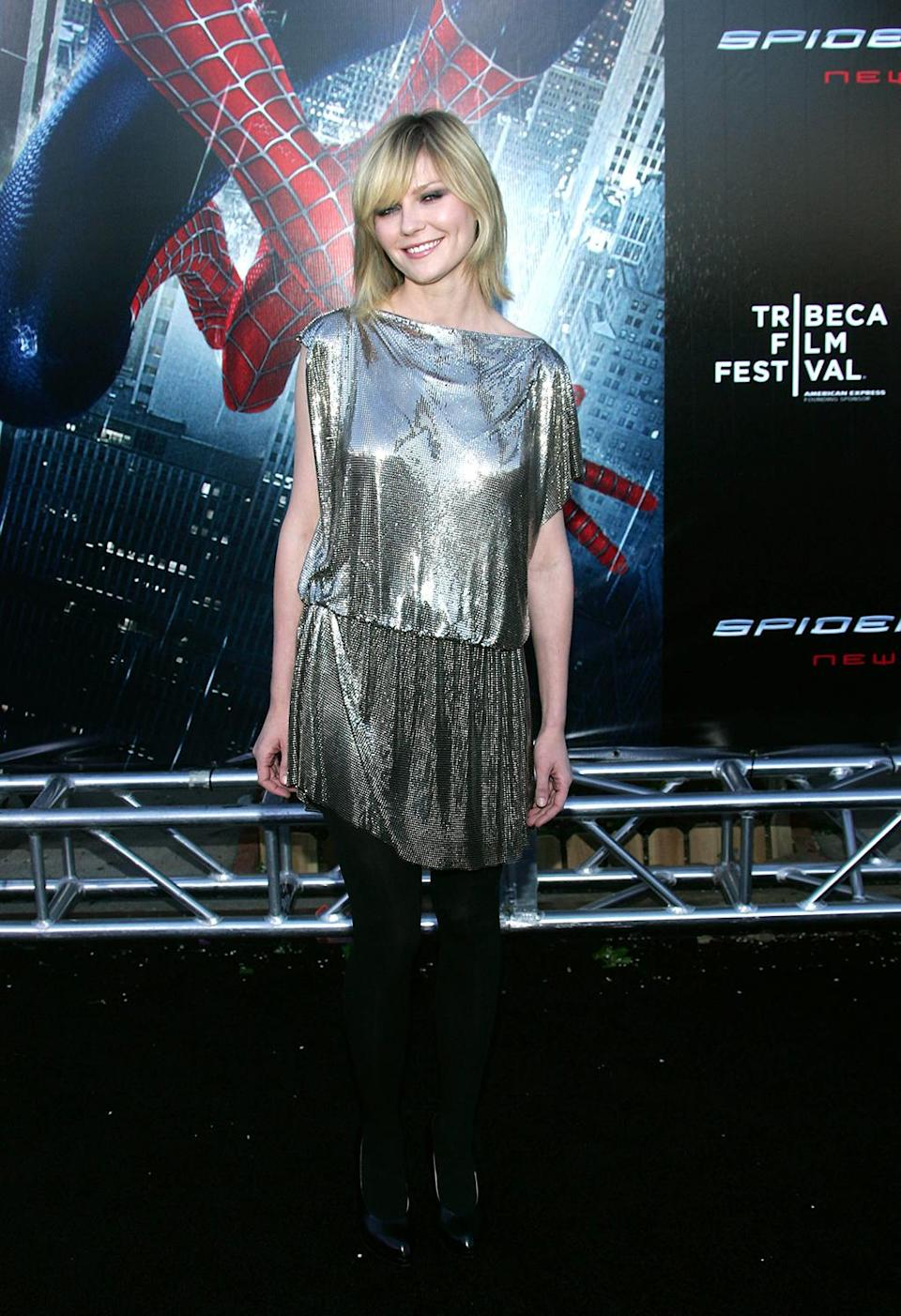 <p>Dunst returned for the last time as Mary Jane in <em>Spider-Man 3</em>. (Photo: Evan Agostini/Getty Images) </p>