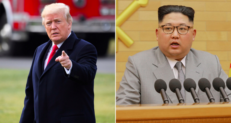 The battle of words between Donald Trump and Kim Jon-un continues to rage (Rex Features)