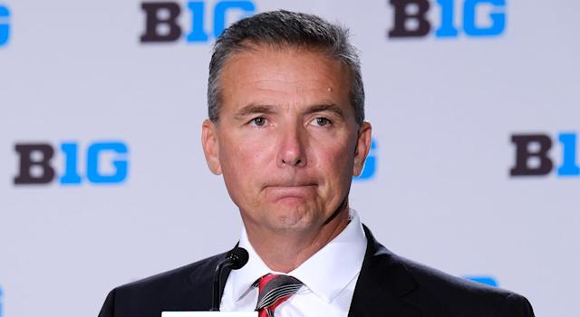 Urban Meyer won't coach in each of Ohio State's first three games of the season. (Getty Images)