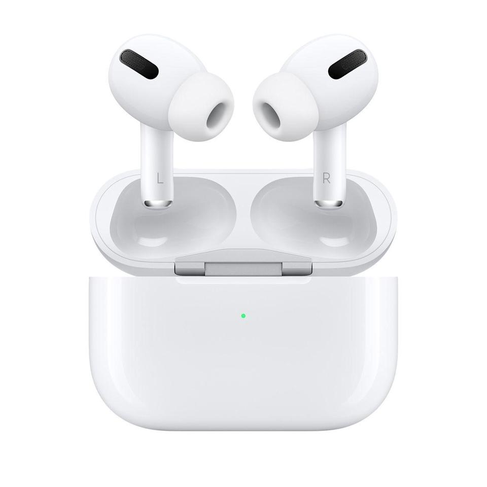 """<p><strong>Apple</strong></p><p>apple.com</p><p><strong>$199.00</strong></p><p><a href=""""https://go.redirectingat.com?id=74968X1596630&url=https%3A%2F%2Fwww.apple.com%2Fshop%2Fproduct%2FMRXJ2AM%2FA%2Fairpods-with-wireless-charging-case&sref=https%3A%2F%2Fwww.elledecor.com%2Flife-culture%2Ftravel%2Fg36806316%2Fsummer-travel-necessities%2F"""" rel=""""nofollow noopener"""" target=""""_blank"""" data-ylk=""""slk:Shop Now"""" class=""""link rapid-noclick-resp"""">Shop Now</a></p><p>The Apple Airpod Pros' noise-canceling technology is a game changer, especially when you're on a noisy plane or train. You can have your music on or just the noise-cancellation option on so you can catch some z's during that red-eye. </p>"""