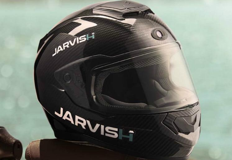 jarvish x ar smart motorcycle helmet