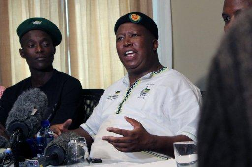 Malema had claimed there was an assassination plot against him