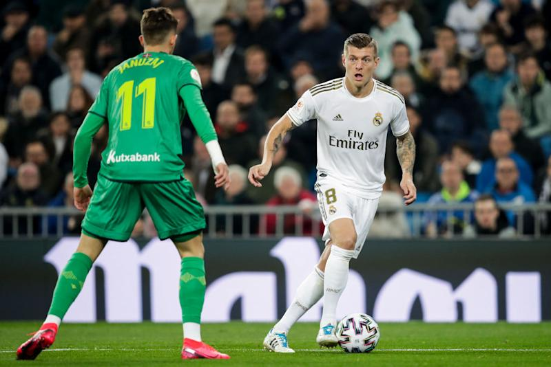 Toni Kroos von Real Madrid (Photo by David S. Bustamante/Soccrates/Getty Images)