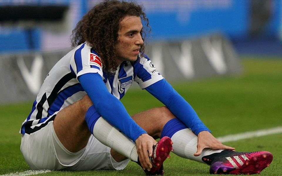 Midfielder Matteo Guendouzi has been shipped out on loan this season to German side Hertha Berlin - AFP