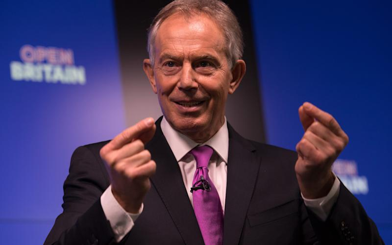 Tony Blair has spoken about his desire to confront Brexit and