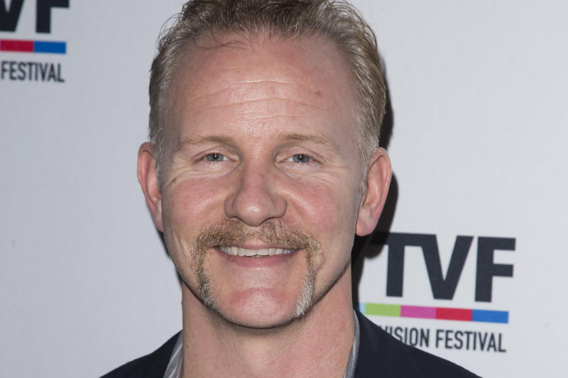 """FILE - In this  Tuesday, Oct. 20, 2015, file photo, Morgan Spurlock attends the 11th Annual New York Television Festival """"CNN Presents: An Original Take on the Stories of Now"""" at the SVA Theatre on in New York. An Ohio pop-up restaurant promoted by Spurlock, the maker of the documentary film """"Super Size Me,"""" as a test for a restaurant concept, may have been a stunt about how marketing can misrepresent food quality. (Photo by Ben Hider/Invision/AP, File)"""