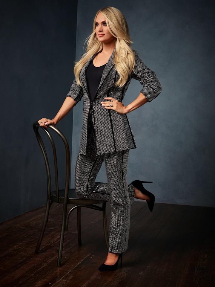 """""""The idea came, in working with Carrie, to invite Reba and Dolly—two of the biggest icons of all time—to join her. They jumped at the chance to be part of it and to work with her, which really showcases what an icon Carrie has become, and what a legend she's become in her own right,"""" Whiteside said."""