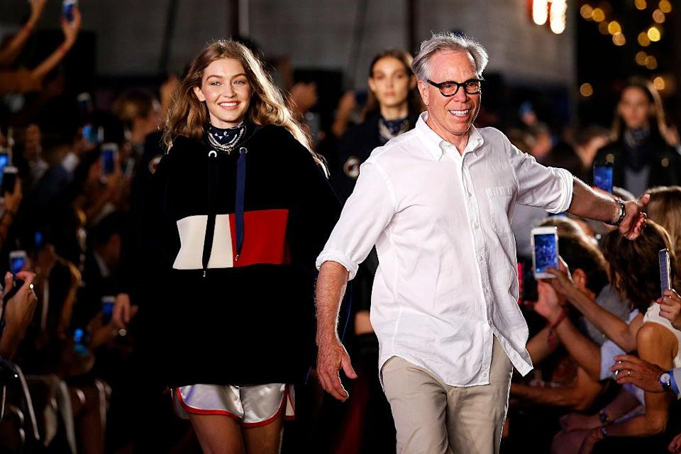 NEW YORK, NY - SEPTEMBER 9: A Scene detail at the Tommy Hilfiger Women's show at Pier 19 on September 9, 2016 in New York City. (Photo by Estrop/Getty Images)