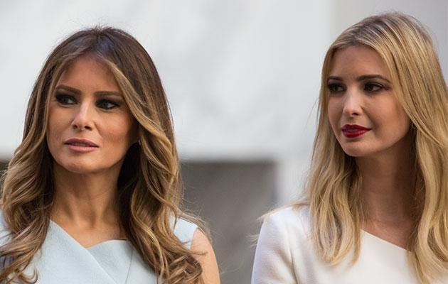 They have two very different looks - but women everywhere are clamouring to look like Melania and Ivanka. Photo: Getty