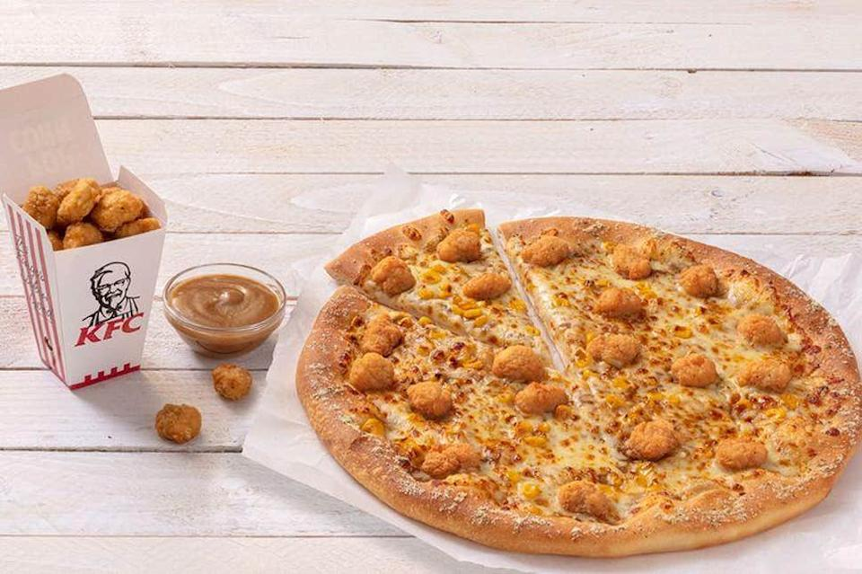 KFC and Pizza Hut has joined forces. [Photo: KFC/Pizza Hut]
