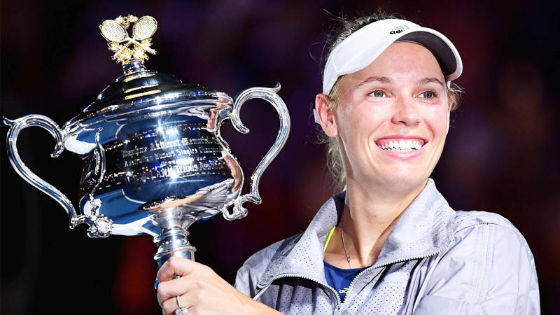 Caroline Wozniacki has announced she will retire following the 2020 Australian Open. (Getty Images)