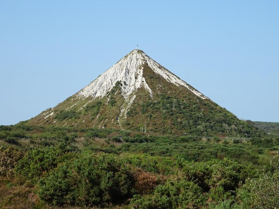 The clay spoil tip in St Austell (Paul Murphy)