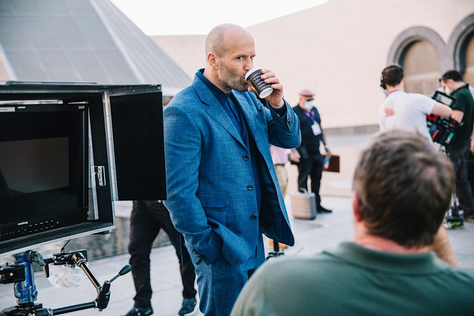 Jason Statham plays MI6 guns-and-steel agent, Orson Fortune in Guy Ritchie's new film (Julien Scussel & QNTC)