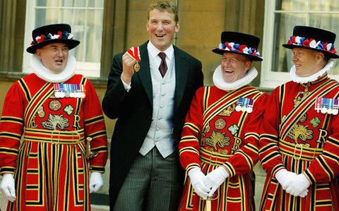 Sir Matthew with Yeomen of the Guard - Credit: Getty Images