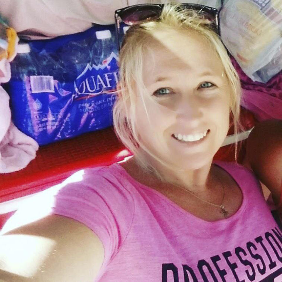 <p>This undated photo shows Carrie Barnette, one of the people killed in Las Vegas after a gunman opened fire on Sunday, Oct. 1, 2017, at a country music festival. (Facebook via AP) </p>