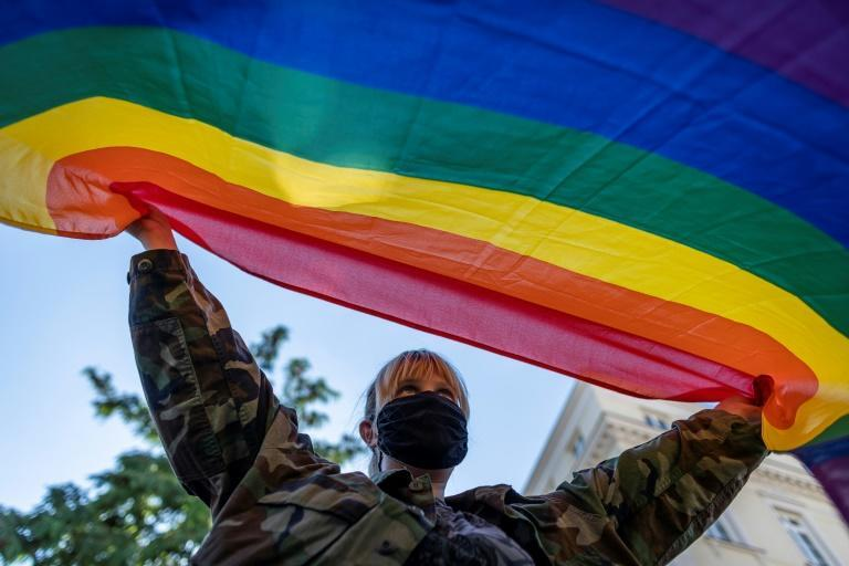 Gay rights have become a flashpoint issue in Poland, where the right-wing government has campaigned against what it calls 'LGBT ideology'