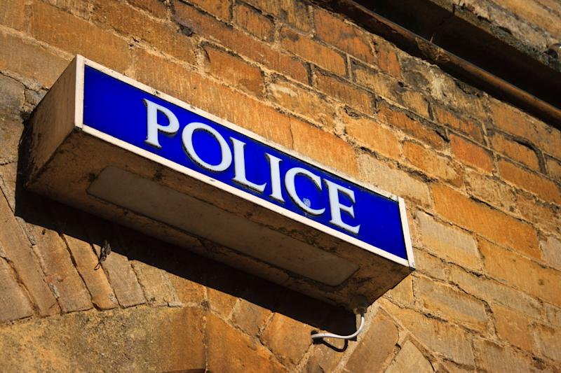 """""""Police Information Sign, Cotswolds, England"""" (Photo: WEKWEK via Getty Images)"""