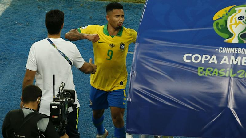 Brazil star Jesus handed two-month international ban for Copa America explosion