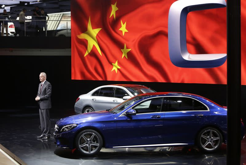 File photo of Troska at Auto China 2014 in Beijing