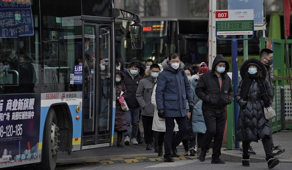 Beijing is on high alert amid an outbreak in neighbouring Hebei province. Photo: AP