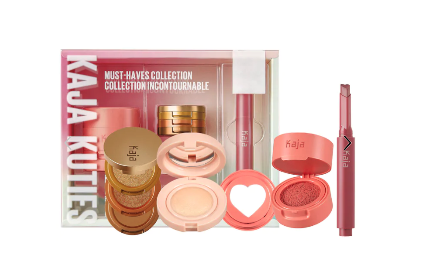 Kaja Kuties Must-Haves Face and Lip Collection. Image via Sephora.