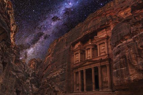 Starry skies over Petra - Credit: Getty