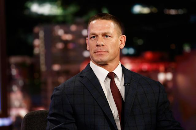John Cena turned 41 on April 23. (Photo: Getty)